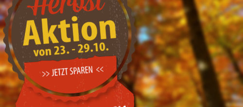 Outdoor Herbst-Aktion
