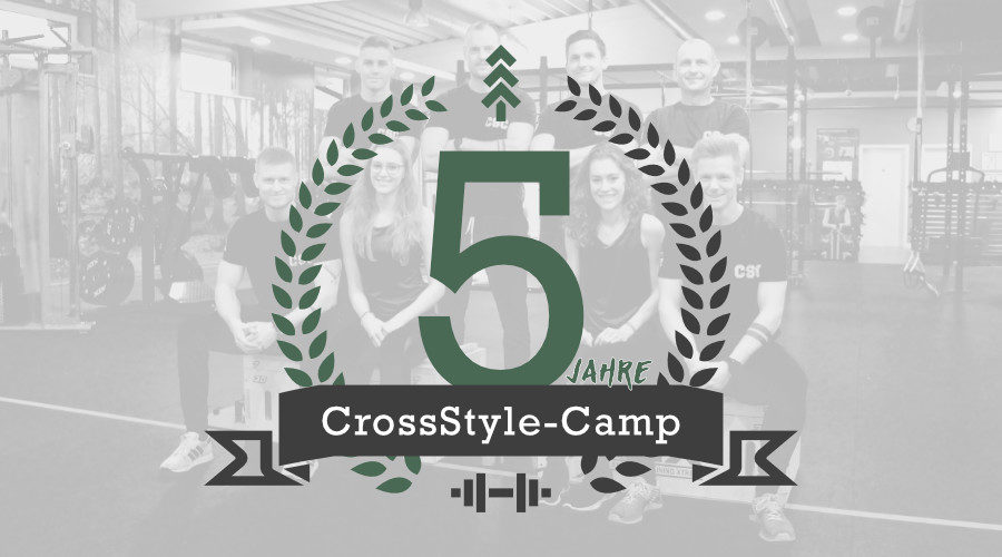 Aktion 5 Jahre CrossStyle-Camp